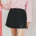 Pleated Mini Skirt 1596