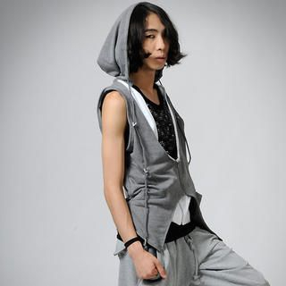Buy deepstyle Hooded Vest 1022886055