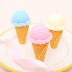 Set of 3: Ice Cream Candle 1596
