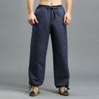 Drawstring Straight-Leg Pants 1596