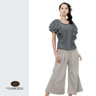 Buy canezou Wide-Leg Cropped Pants 1023038211