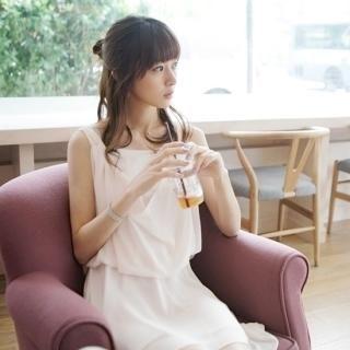 Buy VIVIDRESS Sleeveless Chiffon Dress 1022929462