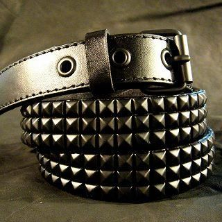 Buy Wizz Spirit Pyramid Stud Belt Black – One Size 1005178530