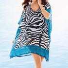 Zebra Print Cover-Up 1596