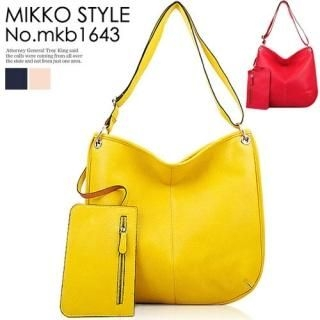 Buy Mikko Genuine Leather Shoulder Bag with Detachable Pouch 1022939395