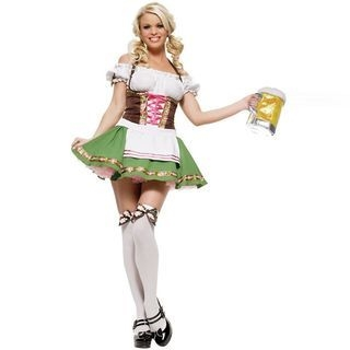 Beer Waitress Party Costume 1062152988