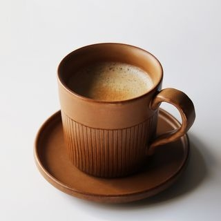 Ceramic Coffee Cup with Saucer 1061389076