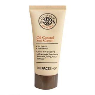 Clean Face Oil Control Sun Cream SPF 35 PA++