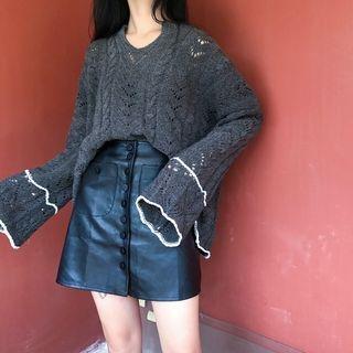 Rib Knit Sweater 1062520770
