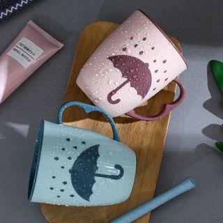 Toothbrush | Umbrella | Plastic | Print | Cup