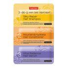 PUREDERM - 3-in-1 Hair Care Treatment: Silky Repair Hair Shampoo 10g + Nourish & Hydrate Hair Conditioner 10g + Vital Radiance Hair Serum 10g 1596