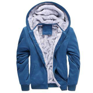 Fleece Lined Hooded Jacket 1063252559