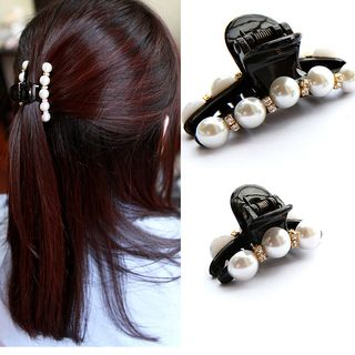 Image of Faux Pearl Hair Claw