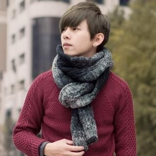 Gradient Knit Scarf