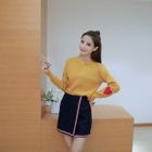 Heart Applique Sweater 1596
