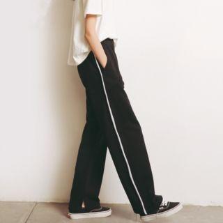 Contrast Trim Sweatpants 1058206017