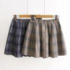 Woolen Pleated Shorts 1596