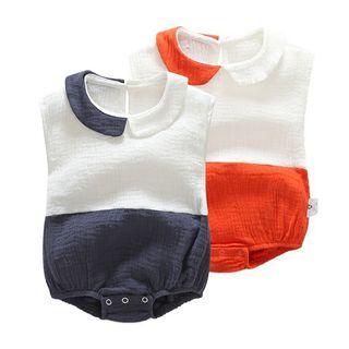 Baby Colour Block Bodysuit