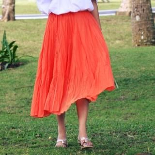 Buy Match & Match Elastic-Waist Linen Skirt 1022960273