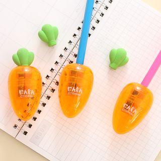 Image of Carrot Pencil Sharpener Orange - One Size