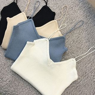 Ribbed Camisole Top 1052995006