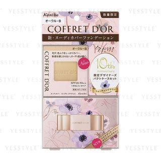 Kanebo - Coffret Dor Nudy Cover Long Keep Base UV SPF 25 PA++ (Ocher B) (Limited Set A) 1 pc 1064738830