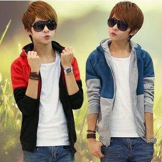Color-Block Hooded Sweatshirt 1048986830