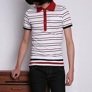 Buy REENO Striped Polo Shirt 1022752404