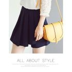 Pleated A-Line Shorts 1596