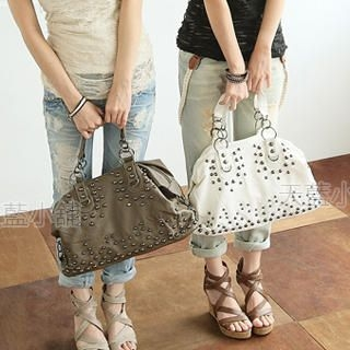 Buy SkyBlue Studded Shoulder Bag 1023038019