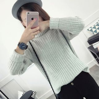 Ribbed Knit Top 1053332509