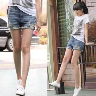 Buy Blue Is Denim Shorts 1022553593