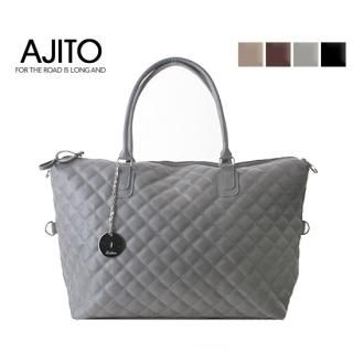 Buy AJITO Quilted Faux-Leather Tote 1021961441