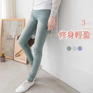 Denim Skinny Pants 1053938872