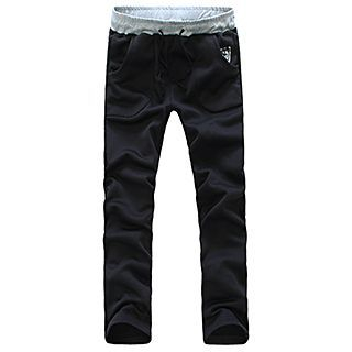 Contrast Trim Sweatpants 1049094167