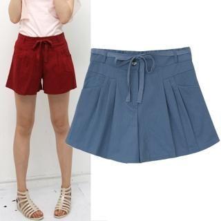 Buy HUE IT GIRL Wide-Leg Shorts 1022776832