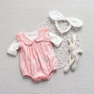 Baby Dotted Bodysuit
