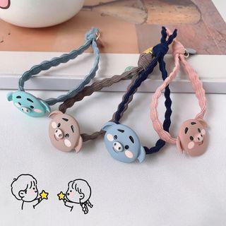 Image of Cartoon Pig Hair Tie