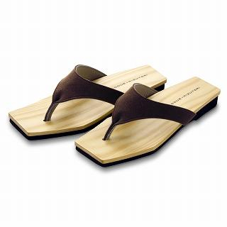 Picture of Mizutori Hinoki Hakimono Wood Sandals 1019588092 (Sandals, Mizutori Shoes, Japan Shoes, Womens Shoes, Womens Sandals)