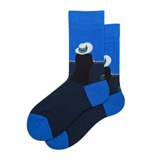 Sapphire   Sock   Blue