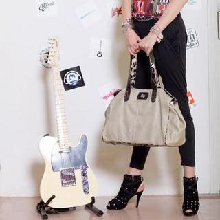 Buy Gossip Girl Leopard Print Shoulder Bag Apricot – One Size 1022944971
