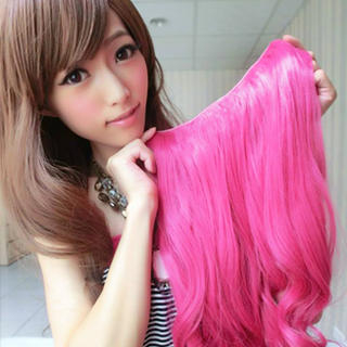 Hair Extension - Long & Wavy 1033496064