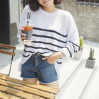 Long-Sleeve Striped Knit Top от YesStyle.com INT