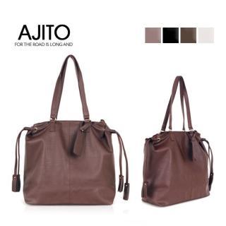 Buy AJITO Faux-Leather Tote 1021534166