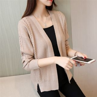 Ribbed Knit Cardigan 1061723637
