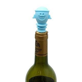 Baby Angel Wine Stopper Light Blue - One Size - United states