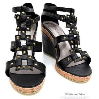 Buy REDOPIN Wedge Sandals 1022916521