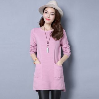 Ribbed Knit Tunic 1055571137