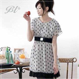 Buy Barbie Baigel Elasticized Waist Print Dress 1019873082