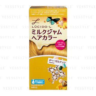 Mandom - Lucido-L Creamy Milk Hair Color (Hazelnut) 1 set 1058069409